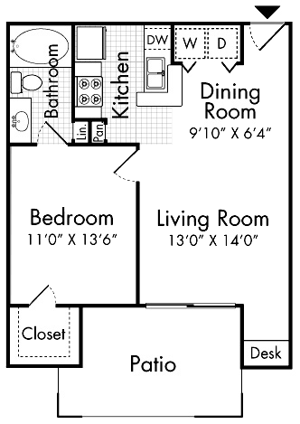 A1 One Bedroom